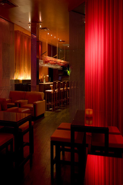 Éclairage restaurant DNA